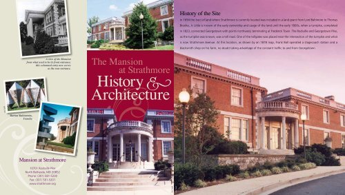 History B Architecture - Strathmore