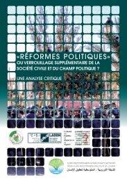 Réformes politiques » ou verrouillage ... - Algeria-Watch