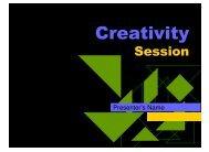 Creativity - Gmservices.com.au