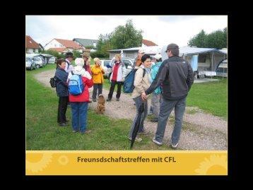 Freunsdschaftstreffen mit CFL - Camping-freunde-freiburg.de