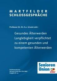 Vortrag lesen... - Senioren-Union NRW
