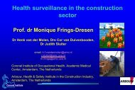 Surveillance Results from the Netherlands (PDF)