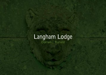 Langham Lodge - Farming