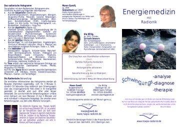 Energiemedizin - Munay-Ki