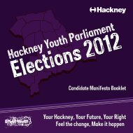 Hackney Youth Parliament - Young Hackney