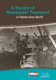 a history of Wastewater Treatment - Palmerston North City Council