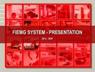 FIEMG SYSTEM - PRESENTATION - Global Urban Development