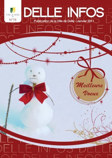 MD-Delle Infos-N°78.indd - Mairie de Delle