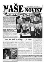 Číslo 16 - naše noviny archiv