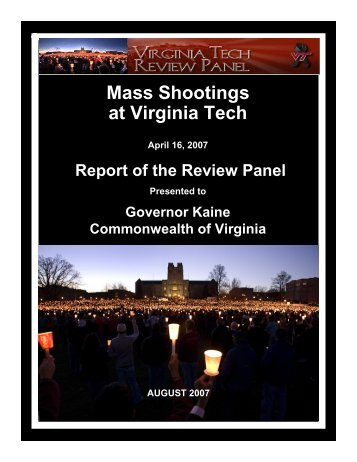 Mass Shootings at Virginia Tech