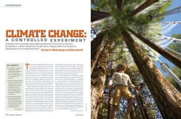 Climate Change: A Controlled Experiment - Oak Ridge National ...