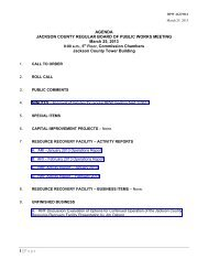 BPW AGENDA - Jackson County