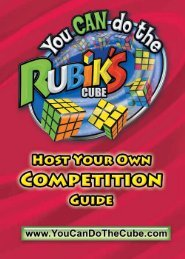Download Competition Guide - You CAN Do the Rubik's Cube!