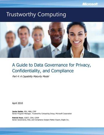 A Capability Maturity Model - International Association of Privacy ...