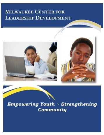 Empowering Youth ~ Strengthening Community - Center for ...