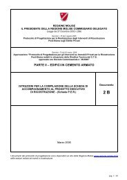 PARTE II – EDIFICI IN CEMENTO ARMATO - Regione Molise