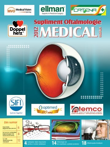 Supliment OFTALMOLOGIE 2012-2013 - Saptamana Medicala