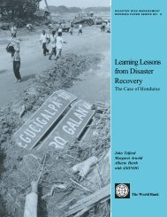 Learning Lessons from Disaster Recovery