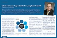 Islamic Finance: Opportunity for Long-Term Growth - State Street