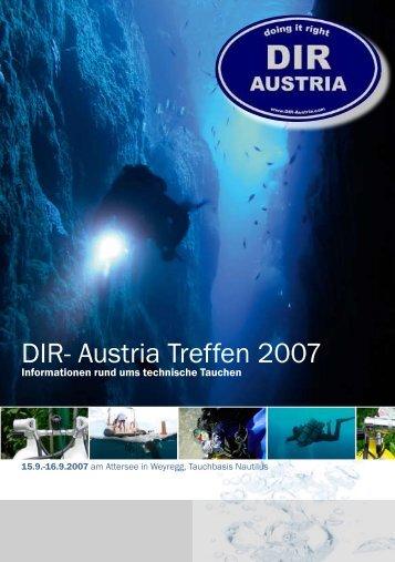 DIR- Austria Treffen 2007 - Taucher.Net