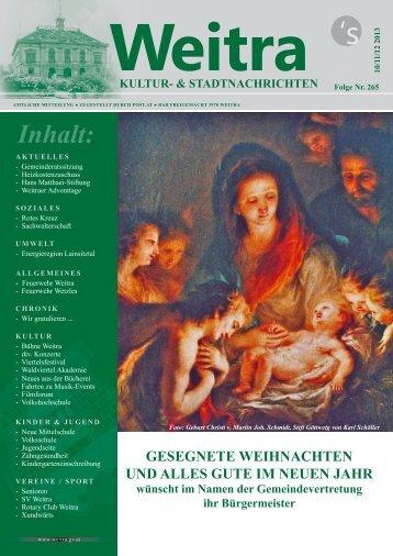 Allgemeines - Weitra