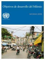 Objetivos de desarrollo del Milenio - Naciones Unidas