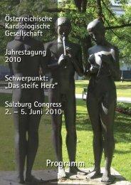 Programm - Österreichische Kardiologische Gesellschaft