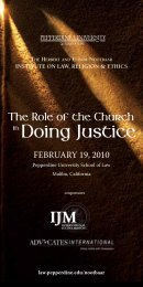 download the conference brochure here. - Pepperdine University ...