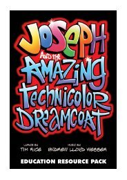 Download the Joseph Education Pack