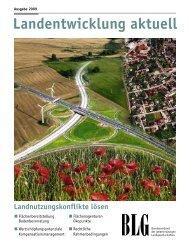 Landentwicklung aktuell - Thüringer Landgesellschaft mbH