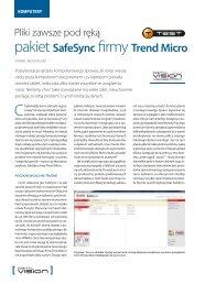 pakiet SafeSync firmy Trend Micro