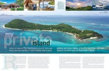Download full pdf article (2MB)... - Petit St. Vincent Resort