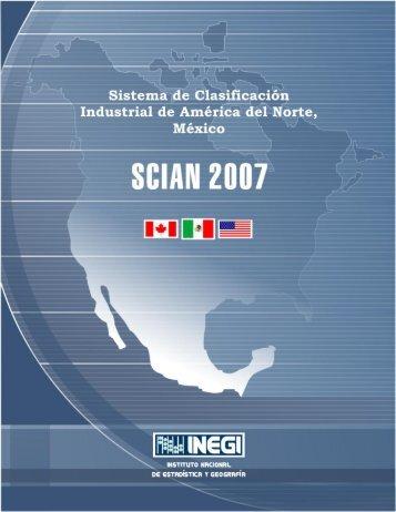 SCIAN 2007(pdf) - Inegi