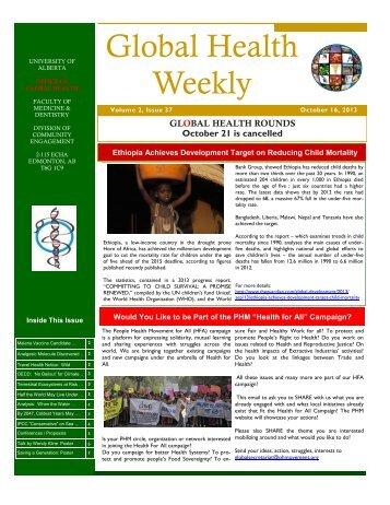 HFA_Global Health Weekly - Vol 2 Issue 37