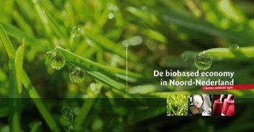 De biobased economy in Noord-Nederland
