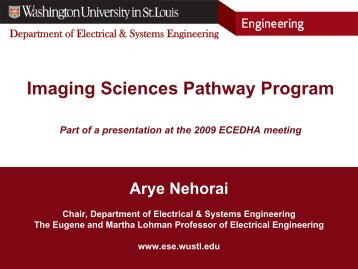 Title Slide - Department of Electrical and Systems Engineering ...