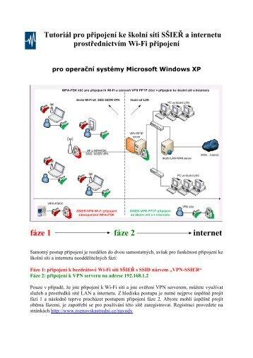Tutoriál pro Windows XP
