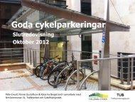 TUB_Cykelparkering_Slutpresentation