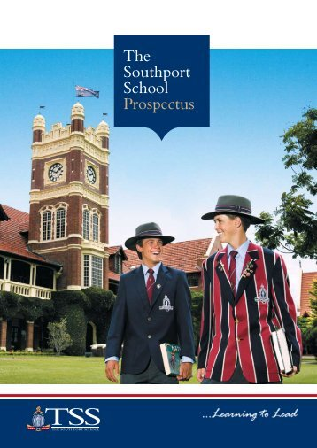 TSS Prospectus - The Southport School