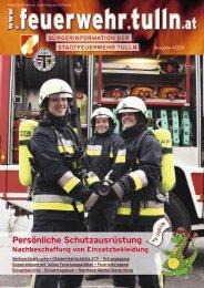 pdf, ~2,3 MB - Stadtfeuerwehr Tulln