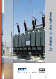 Leistungstransformatoren - SGB-SMIT - manufacturer of transformers