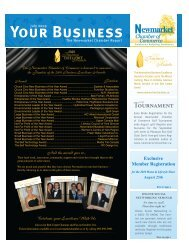 Your Business - Newmarket Chamber of Commerce