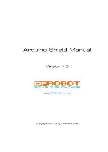Lcd keypad shield df robot