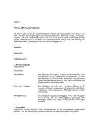 Vertrag Methadonprogramm - Fosumos