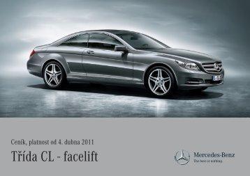 Třída CL - facelift - Mercedes-Benz PRAHA