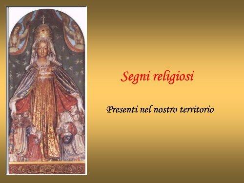 Segni religiosi - Benvenuti nel sito dei ragazzi della Scuola Media!