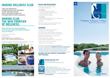 marino wellness club - Union Lido Vacanze