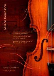 Musica Domestica - Schule Würenlos