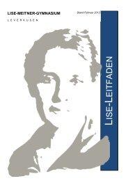 Direkt zum Download des Leitfadens - Lise-Meitner-Gymnasium