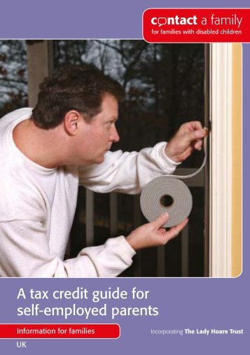 A tax credit guide for self-employed parents - Contact a Family
